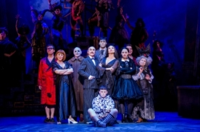First look at Carrie Hope Fletcher and the cast of The Addams Family