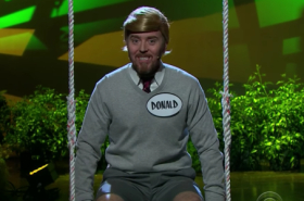 "James Corden and Tim Minchin perform ""When I Grow Up"" from Donald: The Musical"
