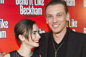 Lily Collins and Graham Norton among guests at Bend It Like Beckham opening