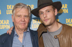 Billie Piper and Laurence Fox among guests at Dear Lupin opening night