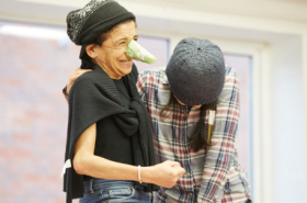 Exclusive first look: Cyrano de Bergerac rehearsals