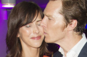 Benedict Cumberbatch's leading lady at Hamlet opening