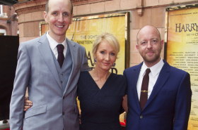In pictures: JK Rowling and more arrive at Harry Potter and the Cursed Child gala performance