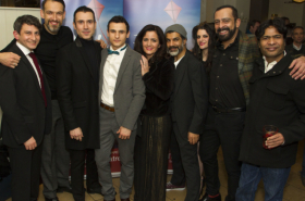 Rhydian Roberts and Su Pollard among guests at The Kite Runner opening night