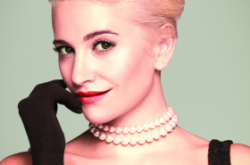 First look at Pixie Lott as Holly Golightly in Breakfast at Tiffany's