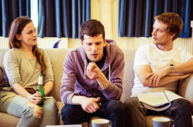 First look: Jesse Eisenberg and cast rehearse The Spoils