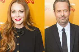 Lindsay Lohan among guests at opening night for The End of Longing