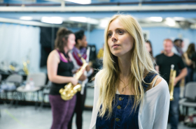 Exclusive: First look at Diana Vickers and Craig Revel Horwood in rehearsals for Son of a Preacher Man