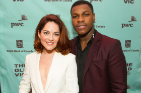 John Boyega and the cast of Woyzeck celebrate opening night