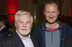 Derek Jacobi and Mark Gatiss among guests at Just Jim Dale opening night