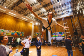 Exclusive first look: rehearsals for the National Theatre's Peter Pan