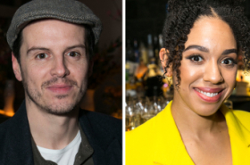 Andrew Scott, Pearl Mackie and Amanda Abbington take part in Almeida's Figures of Speech series