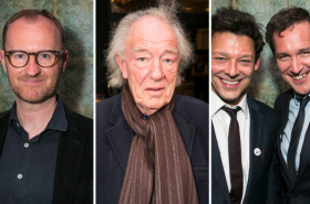 Michael Gambon, Toby Jones and Mark Gatiss join the stars of Ink in the West End