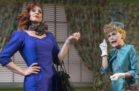 Exclusive photos: Jason Gardiner, Tracie Bennett and Kim Maresca in Ruthless!