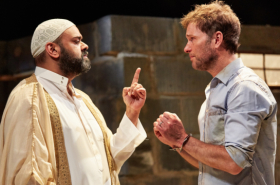 In pictures: The Invisible Hand at the Tricycle Theatre