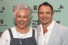 Emma Rice and Noma Dumezweni among guests at Girl From the North Country opening night