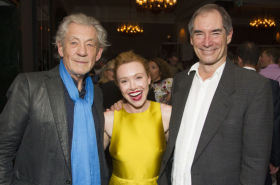 Photos: Matt Smith and Ian McKellen among guests at NYT 60th anniversary gala