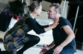 Christopher Eccleston and Niamh Cusack rehearse RSC's Macbeth – exclusive first look