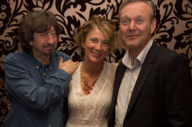 Eve Best, Anthony Head and cast celebrate Love in Idleness opening night