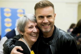 In photos: Gary Barlow and the original Calendar Girls
