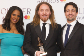 Amber Riley, Tim Minchin, Harry Potter and more pick up their Olivier Awards