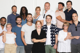 Patti LuPone, Rosalie Craig and cast of Company unite for first day of rehearsals: gallery