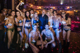 In photos: Graham Norton, Samantha Bond and more at West End Bares