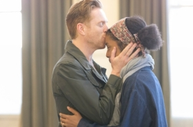 First look at Damian Lewis and Sophie Okonedo in rehearsals for The Goat, or Who Is Sylvia?
