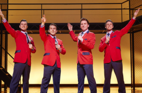 Jersey Boys extends booking to 2016