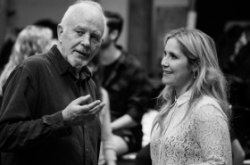 Exclusive first look: The War of The Worlds rehearsals