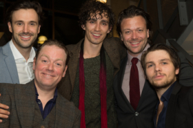 The Wars of The Roses cast celebrate opening night