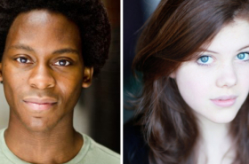 Tyrone Huntley and Georgie Henley to star in new Philip Ridley play at Southwark Playhouse