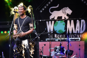 In pictures: WOMAD takes over the National Theatre's River Stage