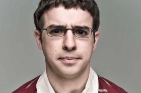 Simon Bird stars in Tom Basden's Crocodile at MIF