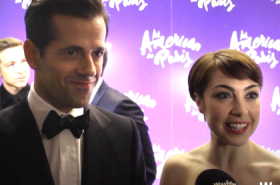 We chat to the cast and guests at the West End opening of An American in Paris