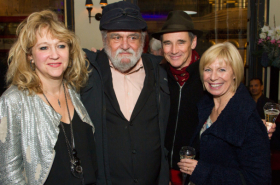 In pictures: Mark Rylance celebrates opening night of Nice Fish