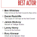 Spotlight On: Best Actor in a Play award