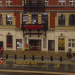 Someone made a lego model of the Royal Court Theatre and it's awesome