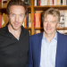 Damian Lewis and Hayley Atwell attend launch of new book by Ken Rea