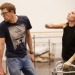 Photos: Kate Fleetwood and Kris Marshall in rehearsals for Ugly Lies the Bone