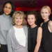 Cast of Splendour celebrate opening night