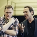 Robert Lindsay and Rufus Hound discuss Gene Kelly and con men at Dirty Rotten Scoundrels launch