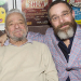 Stephen Sondheim and Jonathan Ross attend Assassins opening night