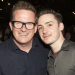 Matt Lucas and Matthew Bourne celebrate Jesus Christ Superstar opening night