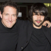 Ben Whishaw and Bertie Carvel celebrate opening night of Bakkhai