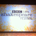 BBC announce 2016 Shakespeare Festival
