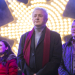 Louis Walsh, Samantha Barks and Emma Bunton at the Nativity! gala