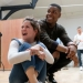 John Boyega and cast in rehearsals for Woyzeck at the Old Vic