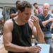Bertie Carvel and cast rehearse The Hairy Ape