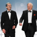Des O'Connor and Jimmy Tarbuck join forces at Palladium